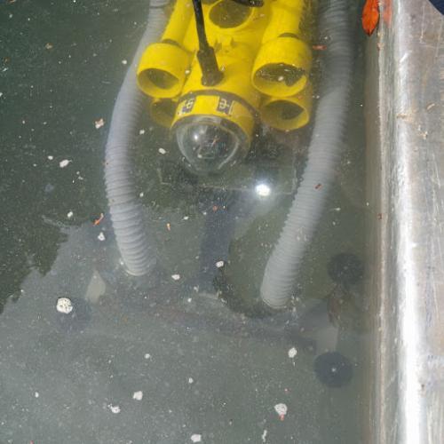 rov sottomarini per videoispezioni  in grandi bacini